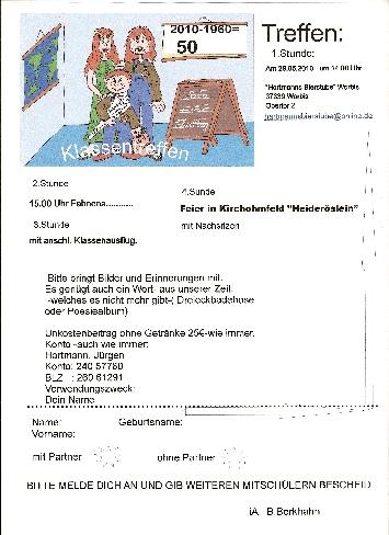 355 x 488 · 80 kB · jpeg, Einladung zum Klassentreffen